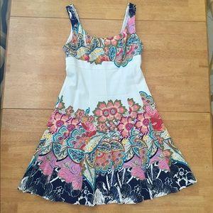 Women's Sz 4 Nine West Floral Dress